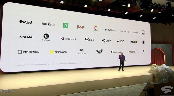 Stadia Partners Google