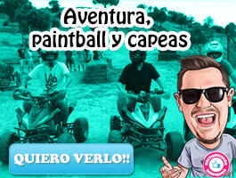 Paintball, Aventura, Karts y Capeas